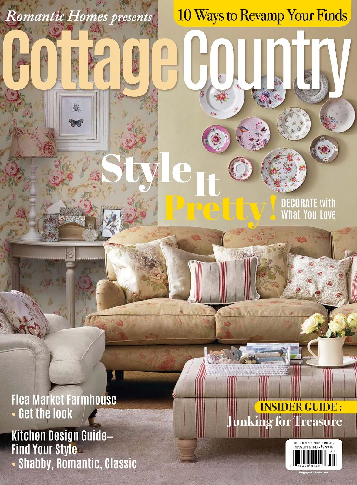 Cottage country magazine cottage style magazine summer for Cottage design magazine